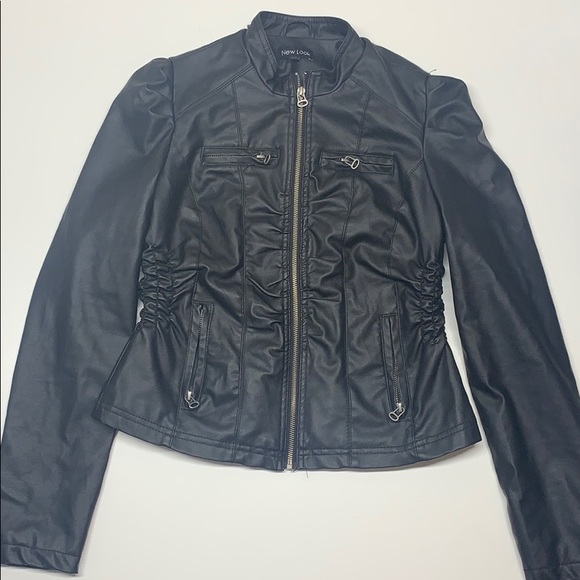 New Look Jackets & Blazers - Black leather jacket